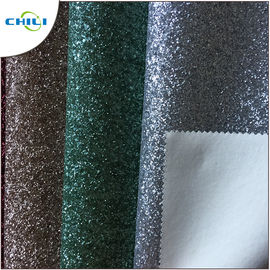 Fashion Glitter Leather Fabric Popular Design Decoration Uphosltery